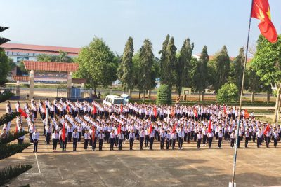 Hội thi nghi thức đội – năm học 2017-2018